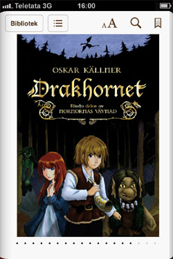 Drakhornet ebok iPhone m 10