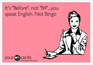 eng b4 bingo