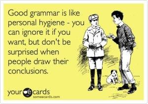 eng grammar hygiene