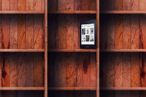 ebook-empty-bookshelf