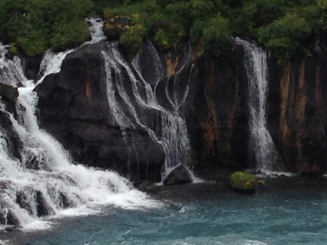 Isländskt vattenfall