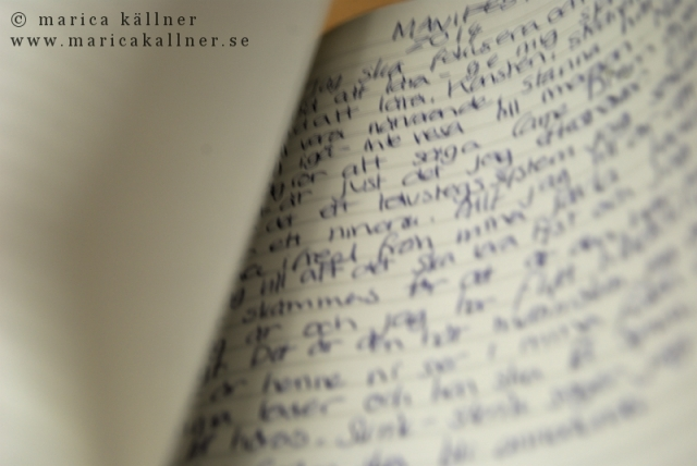 skriva