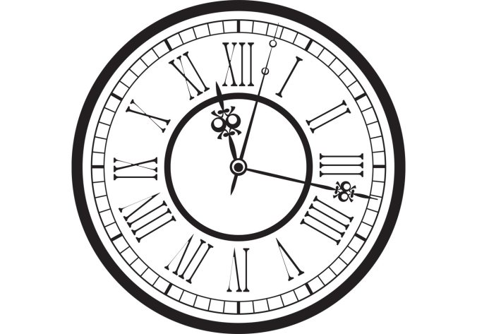 vintage-old-clock-vector