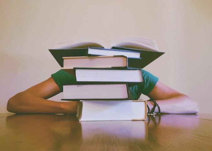 sluta läsa bok