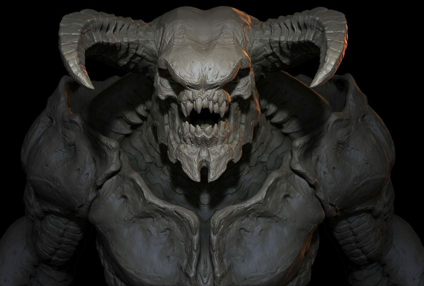 http---mashable.com-wp-content-gallery-doom-a-tour-through-demons-concept-art-DenzilO'Neill-BaronofHellRender