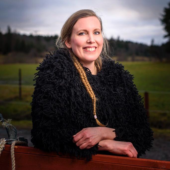 Katarina Berglund sprutande