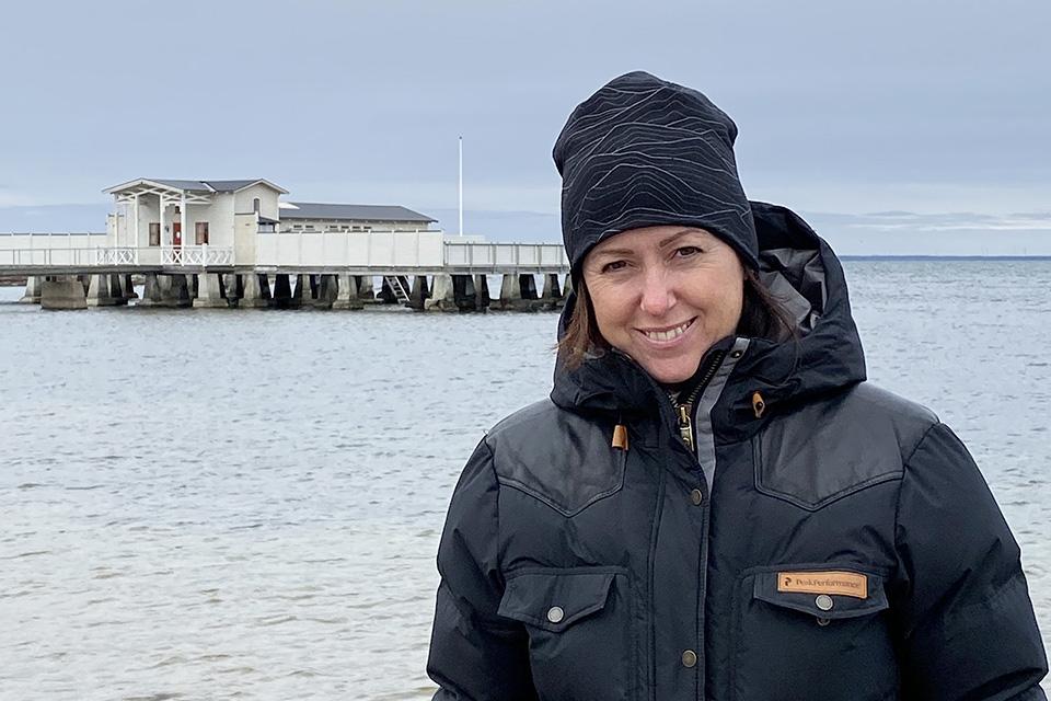 Caroline Möllesand research på Öland