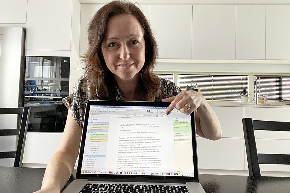 Skrivprogrammet Scrivener Caroline Möllesand