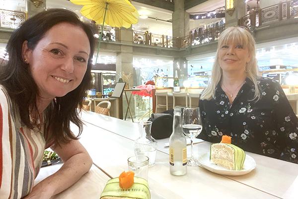Caroline Möllesand och Anette Jacobsson