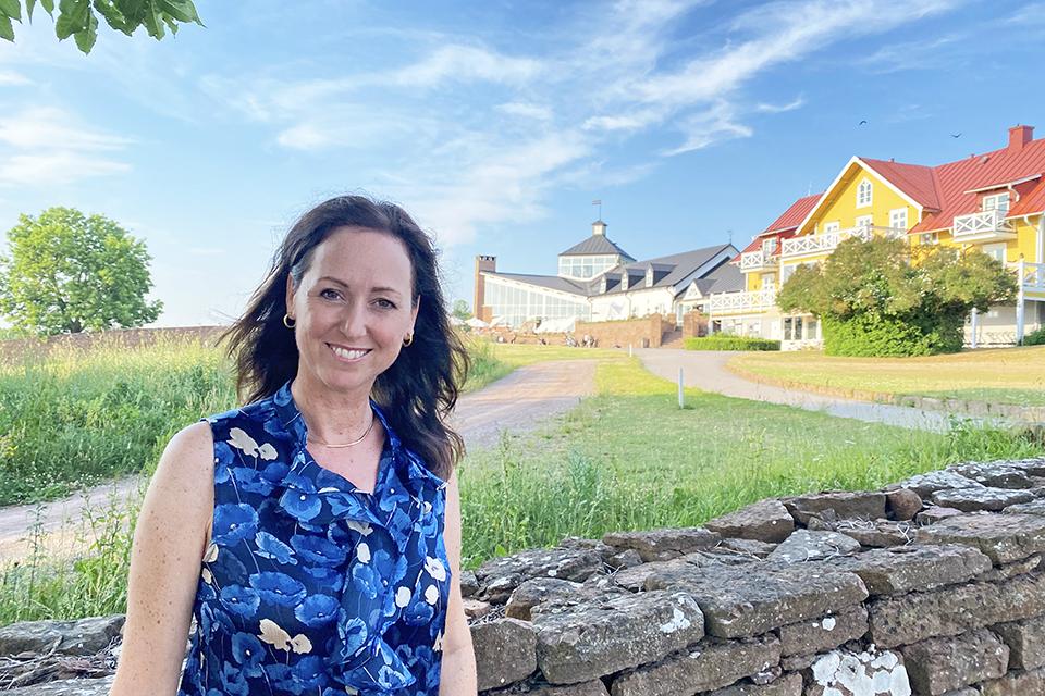 Caroline Möllesand på Ekerum Resort