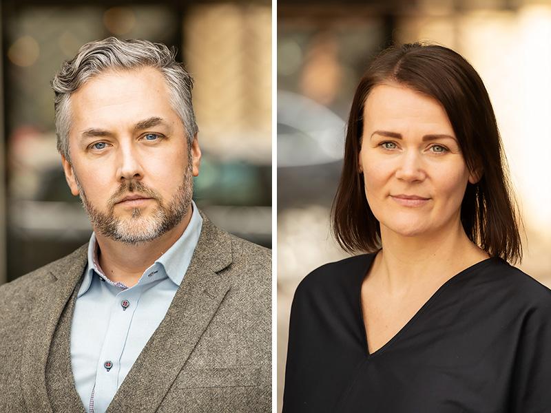 Erik Johansson och Christin Holmgren, Bokfabriken